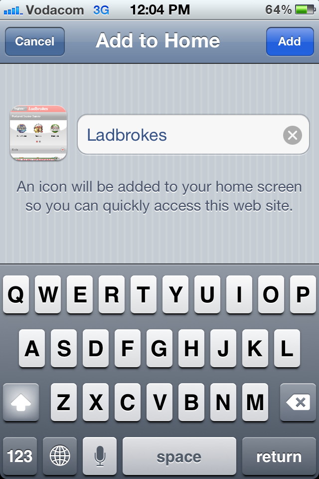 How to play at Ladbrokes Mobile Casino - Step 5