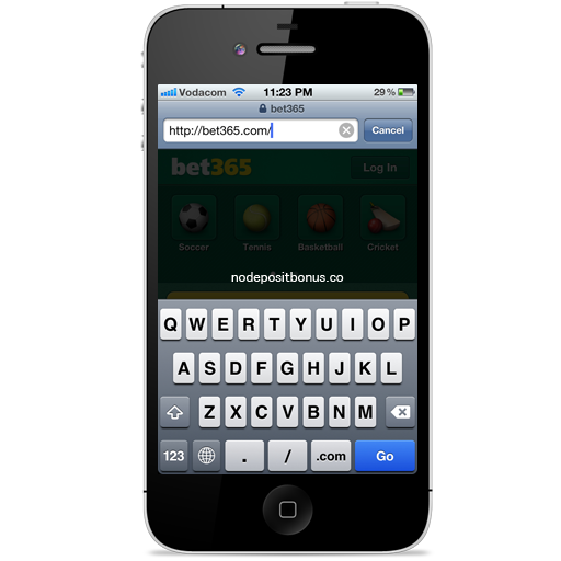 How to Play at Casino Tropez Mobile - Step 1