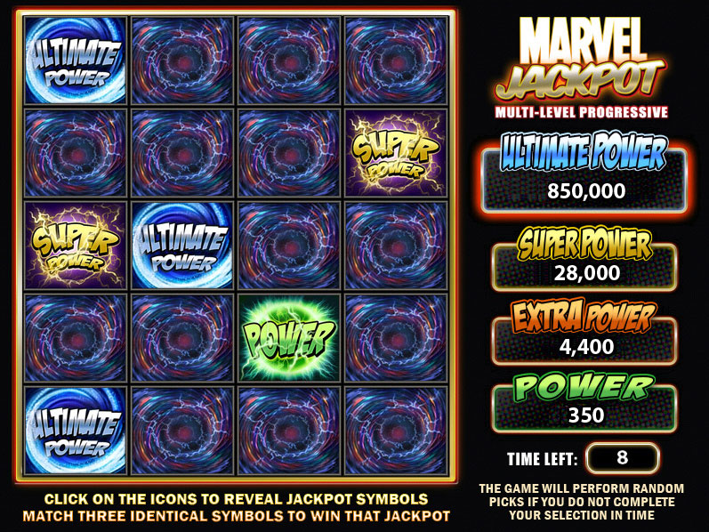 Iron Man 2 Progressive Jackpot